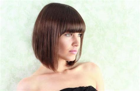 graduated bob with fringe hairstyles new looks for summer 2016 hair