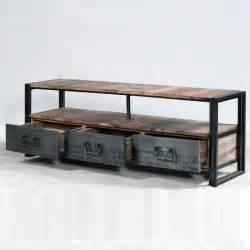great meuble tv tiroirs niche with bureau industriel