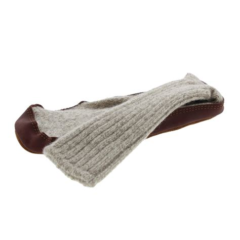mens knitted slipper socks acorn 1884 mens cable knit wool slipper socks bhfo