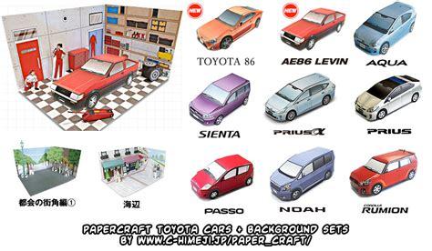 Toyota Papercraft - ninjatoes papercraft weblog papercraft toyota cars and