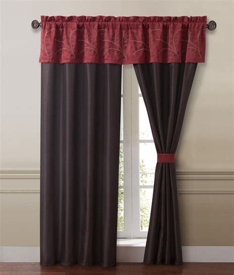 burgundy and gold curtains lambert burgundy and gold curtain set ebay