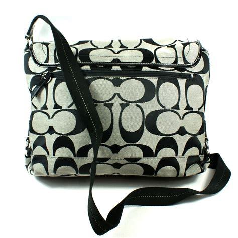 Coach Signature Massenger Bag Large Authentic Product coach signature messenger bag coachdiscount