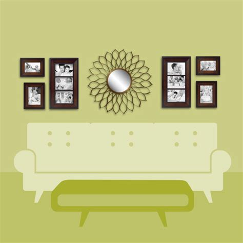 wall decor above couch wall solutions decorating tips tricks