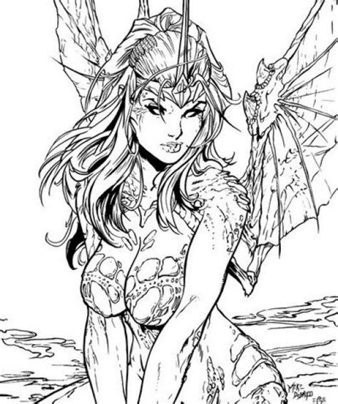 coloring pages advanced fantasy fairy coloring pages and books