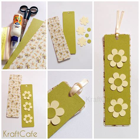 Handcrafted Bookmarks - handmade bookmarks kraftcafe