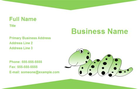 animal business card templates free business card animal free business card animal templates