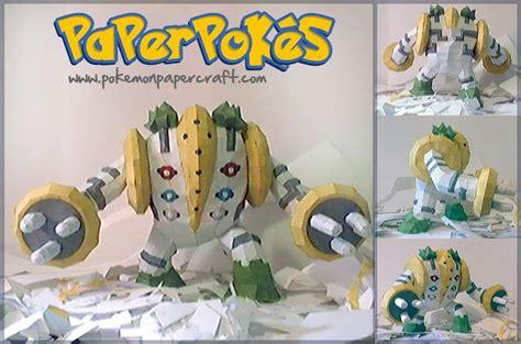 Arcanine Papercraft - papercraft model regigigas pok 233 mon papercraft