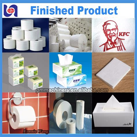 small scale bamboo toilet tissue paper tissue