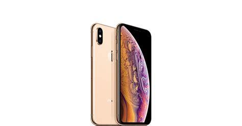 iphone xs gb gold apple