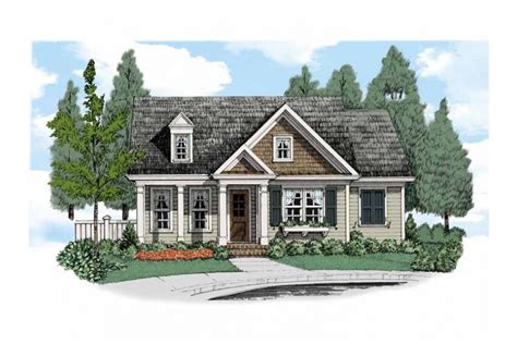 Charming Cottage For A Small Lot Hwbdo67490 Cottage From Builderhouseplans Com