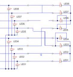 multi wire cable tester circuit diagrams schematics electronic projects
