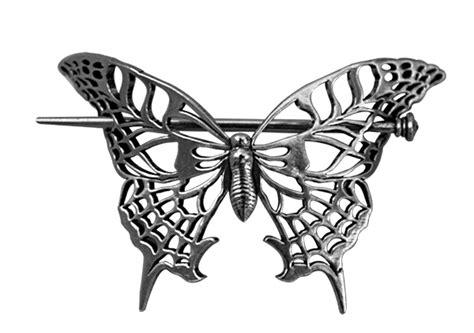 Butterfly Hair Stick hair stick hair slide butterfly butterfly metals