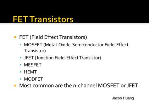 fet transistor operation ppt fet transistor operation ppt 28 images bipolar junction transistor bjt 08 h ppt lecture 17