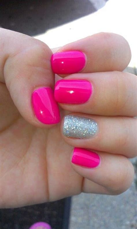 Pink Nail by 67 Innocently Pink Nail Designs Photos