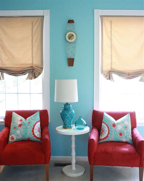 Turquoise Living Room Curtains Designs 104 Best Decorating And Teal Images On Pinterest Home Decor Regarding The Most Awesome