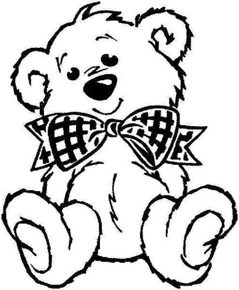 teddy bear with rose coloring page teddy bear coloring page coloring pages pinterest