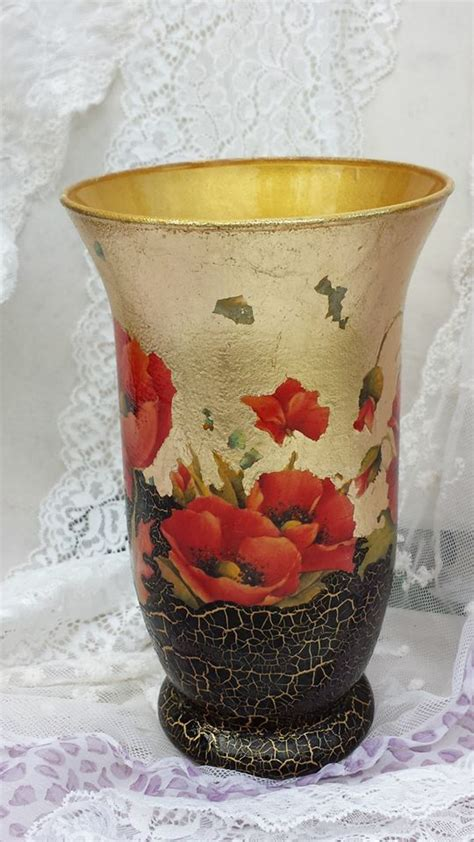 Decoupage Vase Ideas - 844 best images about arte creativo y pintura decorativa