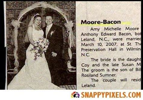 Wedding Announcement Headline by Wedding Announcements In The Newspaper Hilarious