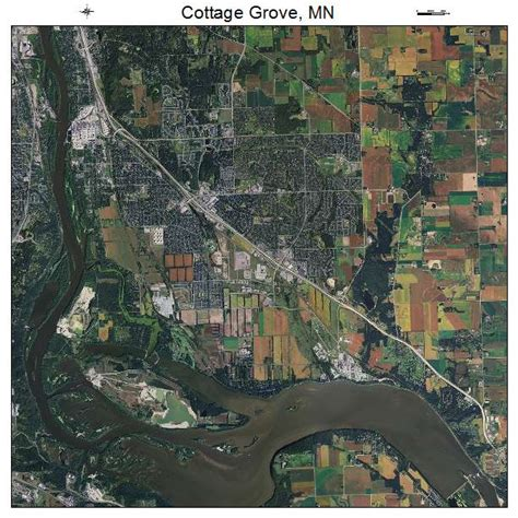 cottage grove map aerial photography map of cottage grove mn minnesota