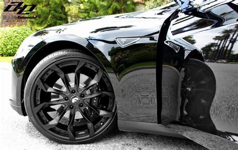 Tesla With Rims Tesla Model S Forgiato Aftermarket Wheels Front