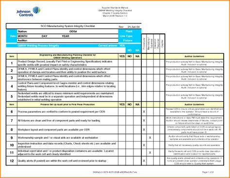 audit program template professional audit form report template sle for