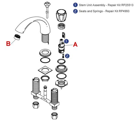 Delta Faucet Aerator Assembly Diagram by Troubleshooting A Leaking Faucet Delta Faucet