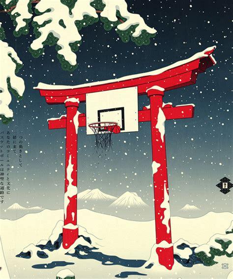 designboom ukiyo e basketball ukiyo e niche andrew archer just dropped edo