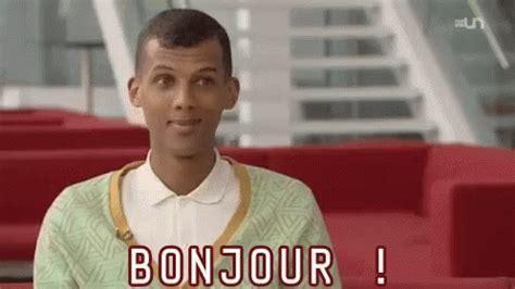 bonjour gif bonjour stromae discover gifs