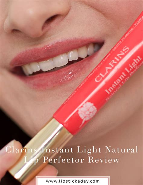 clarins instant light natural lip perfector clarins instant light natural lip perfector gift set