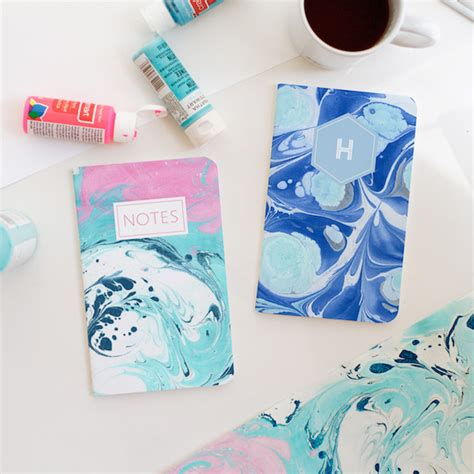 Make Marbled Paper - how to make marbled paper
