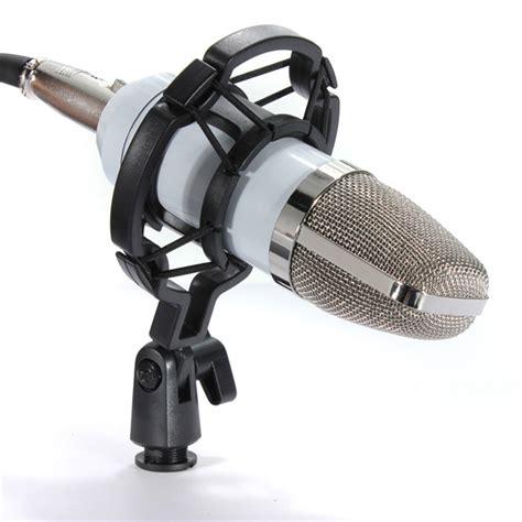 Microphone Bm700 For Recording bm700 studio condenser recording microphone vocal singing podcast mic with mount ebay