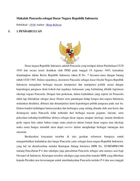 Hukum Internasional Hukum Yang Hidup hukum makalah indonesia sebagai negara hukum yang the knownledge