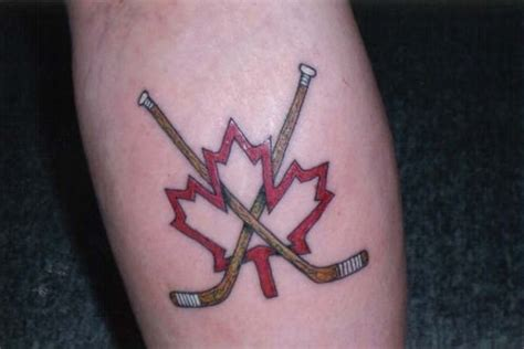 hockey stick tattoo hockey tattoos designs ideas and meaning tattoos for you