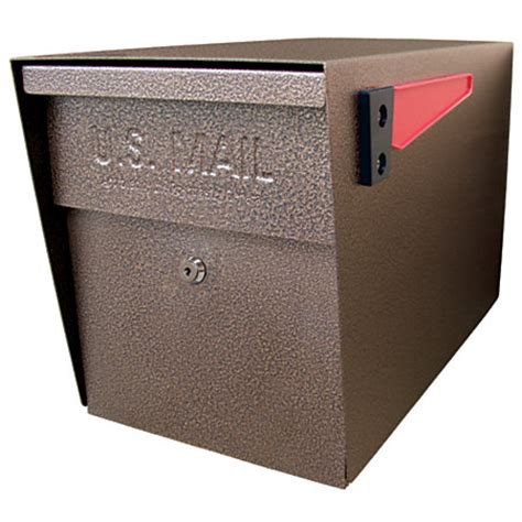Office Mail Boxes by Mail Curbside Locking Mailbox 13 34 X 11 14 X 21