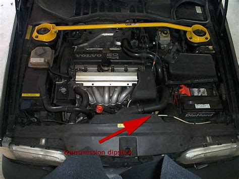 transmission dipstick filler location volvo forums volvo enthusiasts forum