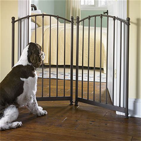 metal dog gates for the house cottage wrought iron pet gate images frompo