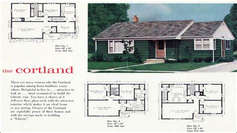 1960s ranch house plans 1940s ranch style houses 1960s ranch style house floor