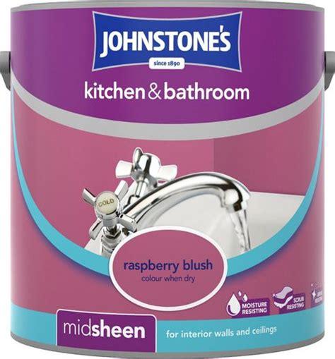 raspberry bathroom paint buy johnstone s 307062 kitchen and bathroom paint