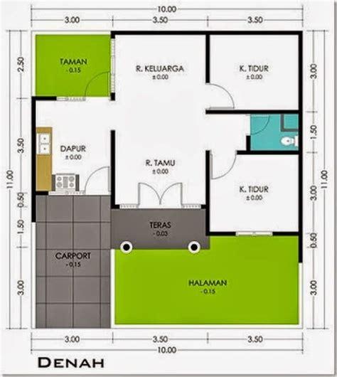 desain rumah minimalis type  desain rumah desain rumah   small house floor plans