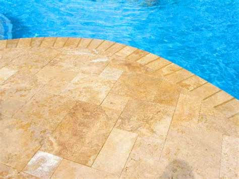 discover travertine pool paver costs