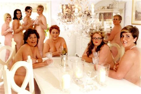 Sell Calendars For Charity Dieters Who Stripped For Charity Calendar Left