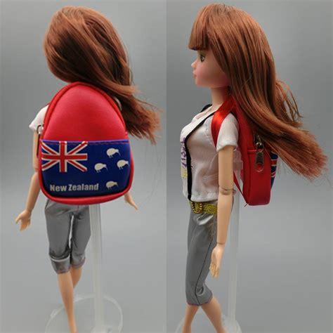 1 6 fashion doll fashion 1 6 dolls bag backpack for doll knapsack