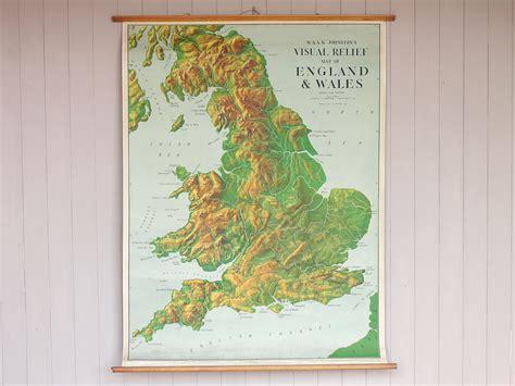 Canvas Uk 145 X 170 Digital Wall Wall Decor Hiasan Dinding vintage canvas and wales wall map sold scaramanga