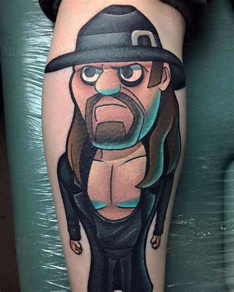 undertaker tattoos the undertaker shortlist