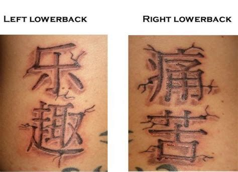 pain kanji tattoo asian tattoo images designs