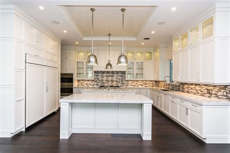 backsplash for kitchen with white cabinet 45 luxurious kitchens with white cabinets ultimate guide