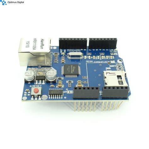 Ethernet Shleid Ws5100 shield ethernet pentru arduino w5100 arduino uno r3 mega mega1280 2560 328 sd card uno mega