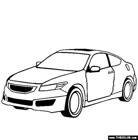 coloring pages honda cars honda accord coupe mugen cars coloring pages kids