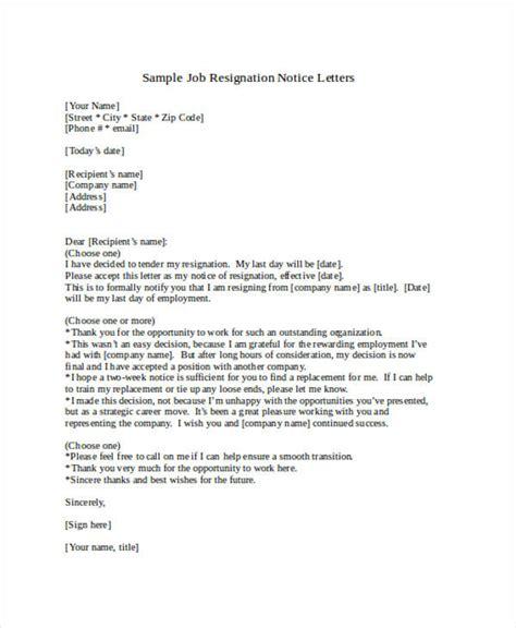 Resignation Letter Career Change 49 Resignation Letter Exles