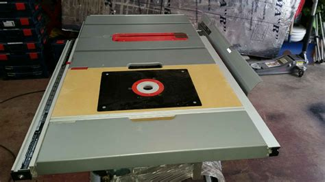 bosch table saw router insert bosch 4100 09 router insert 20 pro construction forum be